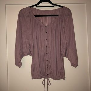 Light purple American Rag blouse